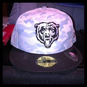Camouflage New Era Chicago Bears Fitted Size 7 1/4